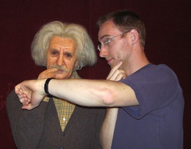 Einstein and me...